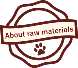 About the raw materials