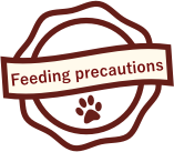 FINEPET'S dog food feeding precautions